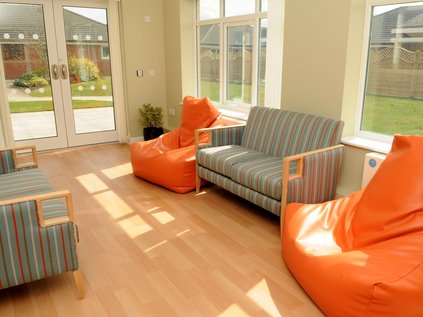 Sun room on Langley Ward